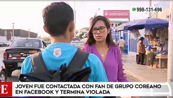 Hermano  de la víctima pide las imágenes de las cámaras de seguridad. (Foto: Captura América Noticias)