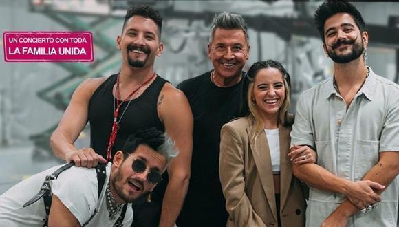 Ricardo Montaner alista todos los detalles para su show virtual al lado de su familia. (Foto: @montaner)