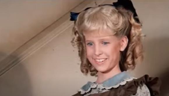 Actriz Alison Arngrim interpretó a la niña Nancy en la serie la Familia Ingalls (Foto: NBC)