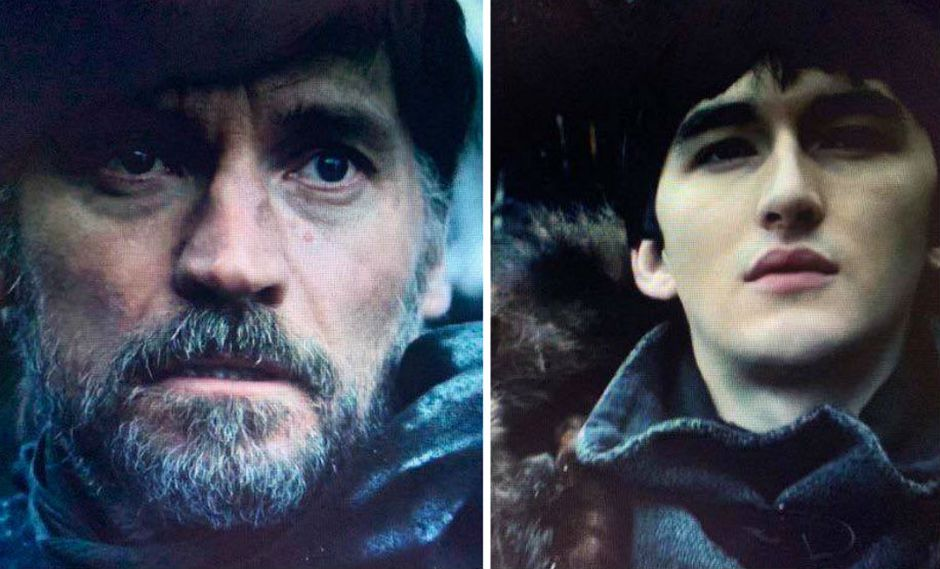 Bran Stark y Jaime Lannister se volvieron a encontrar en la serie. (Foto: HBO)