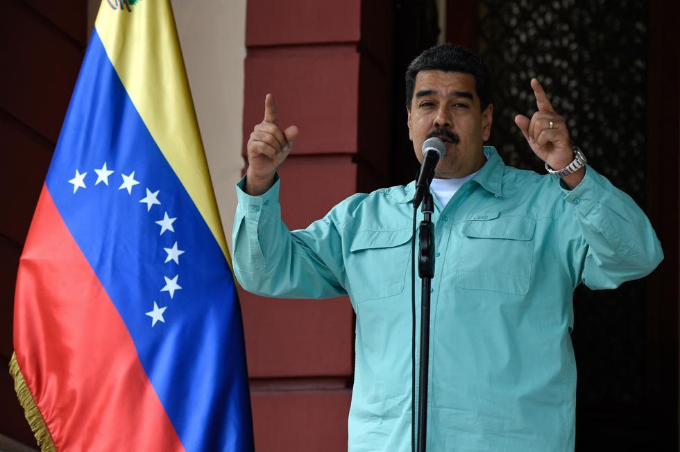 """Nicolás Maduro llamó """"peleles del imperialismo"""" a algunos presidentes de la región. (AFP)"""