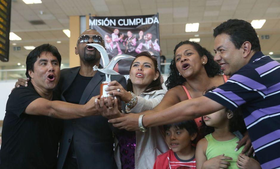 La agrupación peruana ya ganó una 'Gaviota de Plata' en el año 2015. (Créditos: USI)