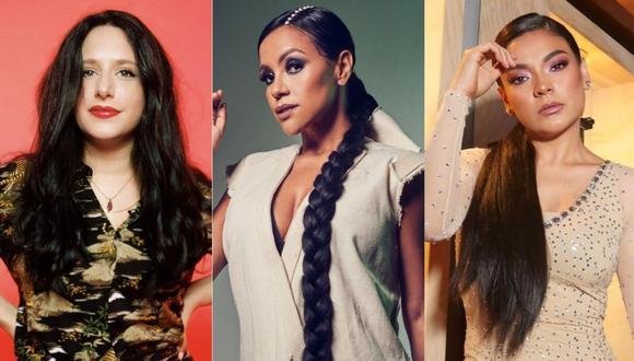 """Gisela Ponce de León, Shantall y Cielo Torres unen sus talentos en """"Voces sin fronteras"""". (Foto: @giselaponce/@shantall/@cielotorres)"""