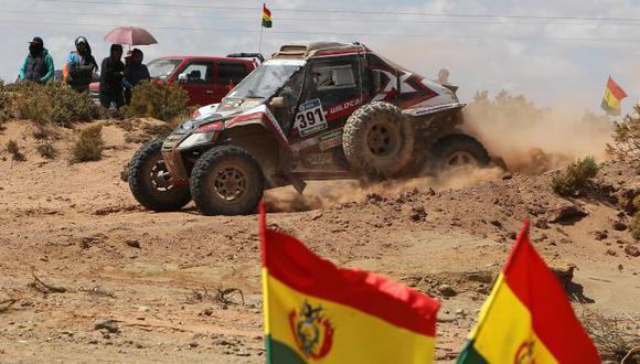 Rally Dakar 2016: Murió espectador boliviano al ser atropellado por piloto francés. (EFE)