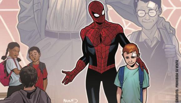 Spiderman: Lanzan cómic especial por el Día contra el bullyng infantil. (Panini/ Marvel)