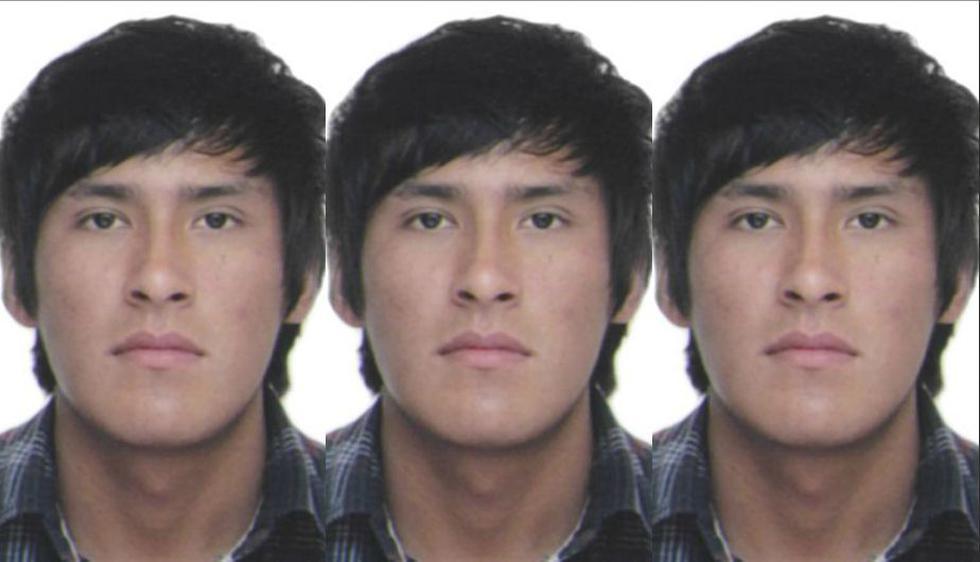 Roberto Gamarra Quinto de 23 años, que fue capturado en La Molina (Ministerio del Interior)