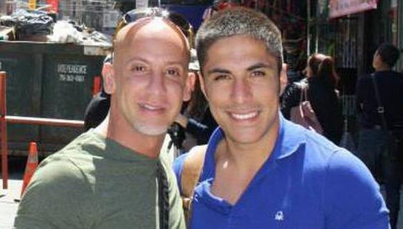 Ariel Bracamonte y Lloyd Villarrubia mantuvieron una relación de dos años. (Internet)