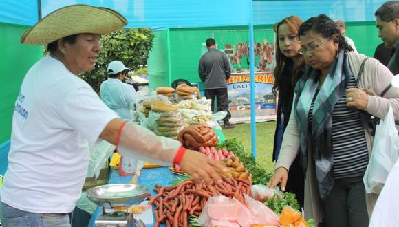 Minagri busca beneficiar a la agricultura familiar. (GEC)