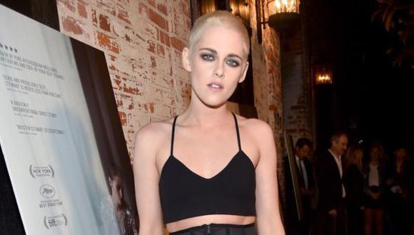 Kristen Stewart hace topless en su última película (AFP)