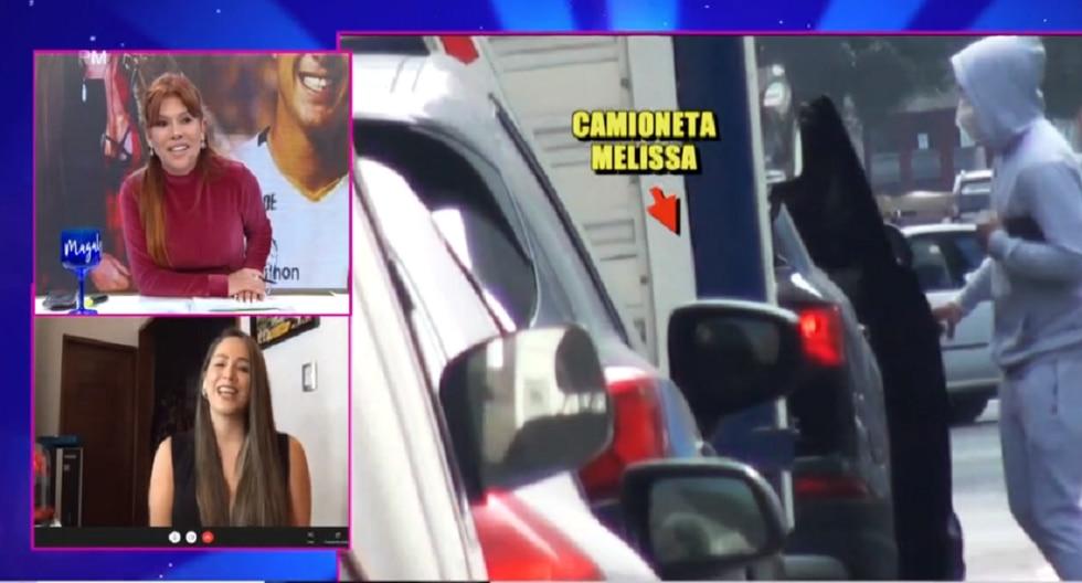 ¿Melissa Klug y el futbolista Jesús Barco tienen una relación? (Foto: Captura ATV)