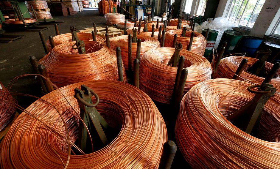 La producción interanual de cobre registró 218,217 toneladas métricas finas (TMF) en mayo. (Foto: Reuters)