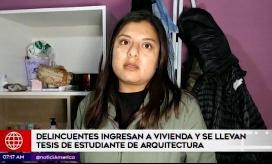 Las investigaciones se encuentran en manos de agentes de la comisaría de Sol de Oro de Los Olivos. (Imagen: América Tv)