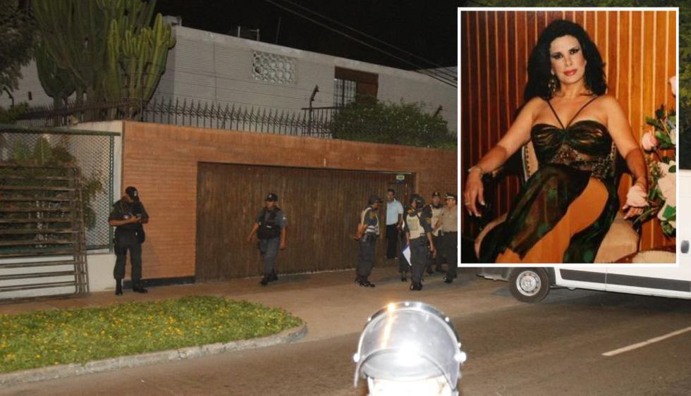 15/8/2006. La empresaria Myriam Fefer es estrangulada en su residencia. (USI)