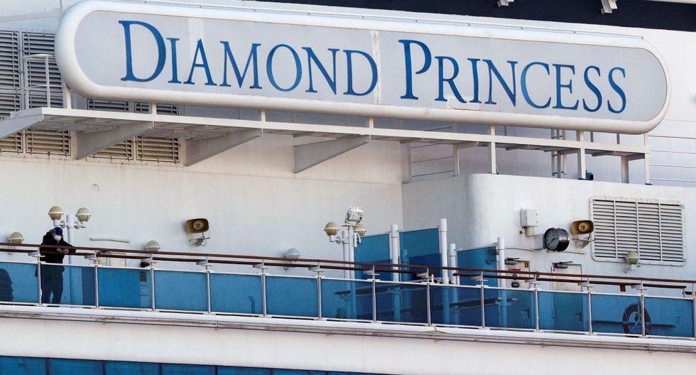 Exámenes médicos a los pasajeros del crucero Diamond Princess en cuarentena frente a las costas de Japón revelaron 67 nuevos casos del coronavirus. (Reuters).