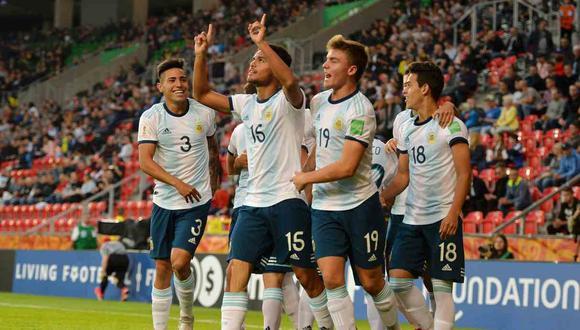 Argentina vs. Portugal se medirán en el Mundial Sub 20. (Foto: @Argentina)