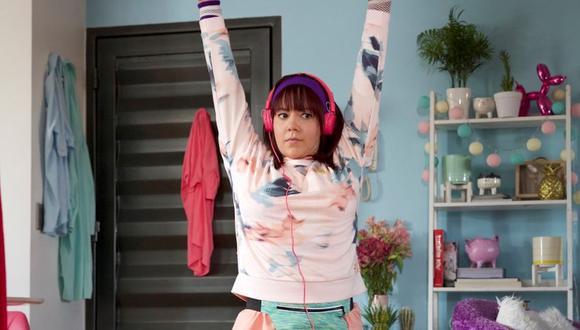 Fernanda Castillo tuvo que subir 12 kilos para su personaje de 'Tami' (Foto: Tiki Group)