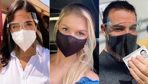 Ellos son algunos de los famosos que acudieron desde temprano a votar. (Foto: Captura de Instagram)