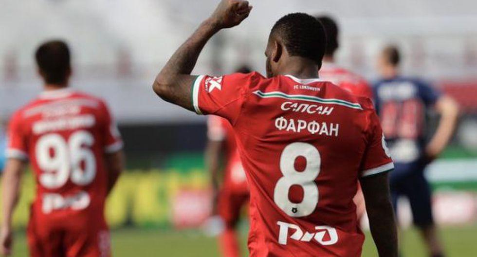 Jefferson Farfán tiene 8 goles en la presente edición de la liga rusa. (Foto: FC Lokomotiv)
