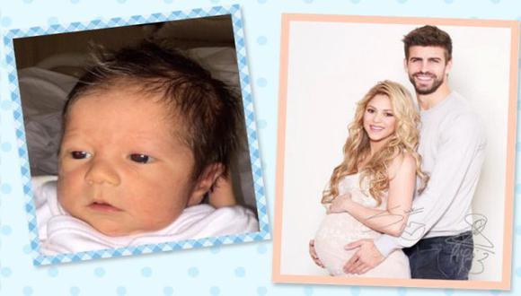 Shakira publicó la primera foto del rostro de Sasha Piqué Mebarak, su segundo hijo con Gerard Piqué. (worldbabyshower.org/es)