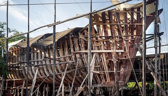 El Ceiba busca elevar el movimiento de carga de vela existente a un nuevo nivel al tiempo, además de llamar la atención sobre las prácticas nocivas y contaminantes de la industria naviera. (Foto: Sailgate)