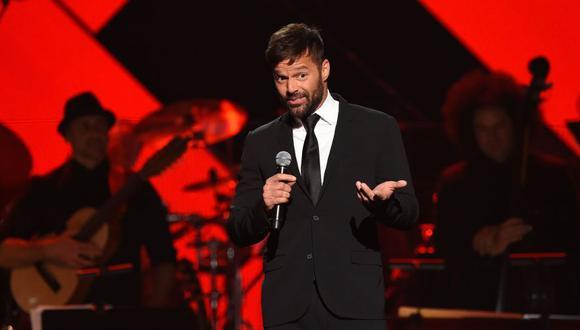 Ricky Martin y su poderoso mensaje a quienes se oponen a la vacuna contra el COVID-19. (Foto: AFP).