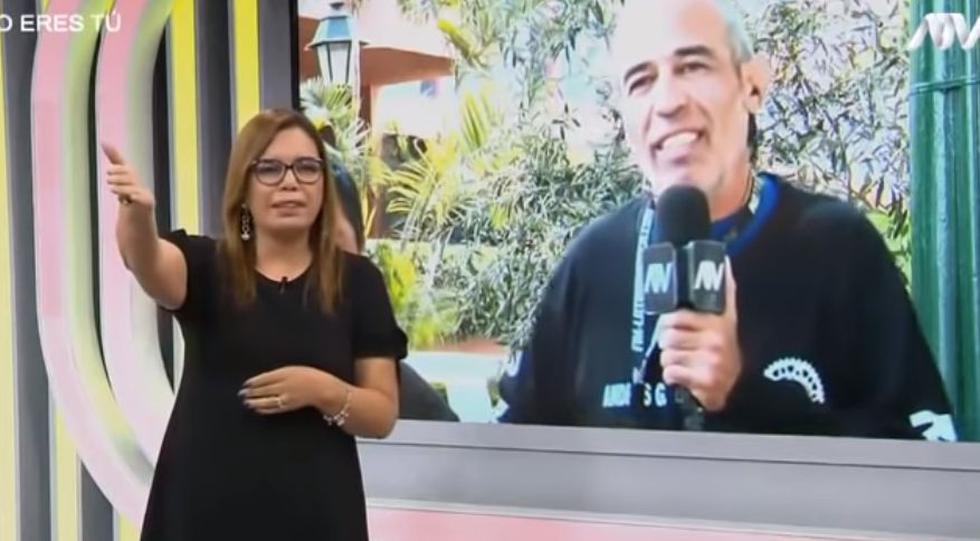 Este es la entrevista de Milagros Leiva y el motociclista de la que todos hablan. (YouTube/ATV)