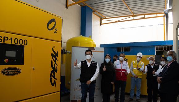 La planta tiene la capacidad de producir 27 m3 de oxígeno medicinal por hora llegando a abastecer 67 balones de oxígeno medicinal de 10 m3 al día.