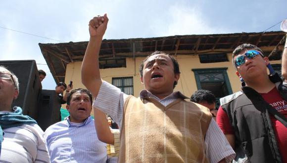 Una evidencia más de que Santos usa los recursos de Cajamarca para destinarlos a sus intereses personales. (Fabiola Valle)