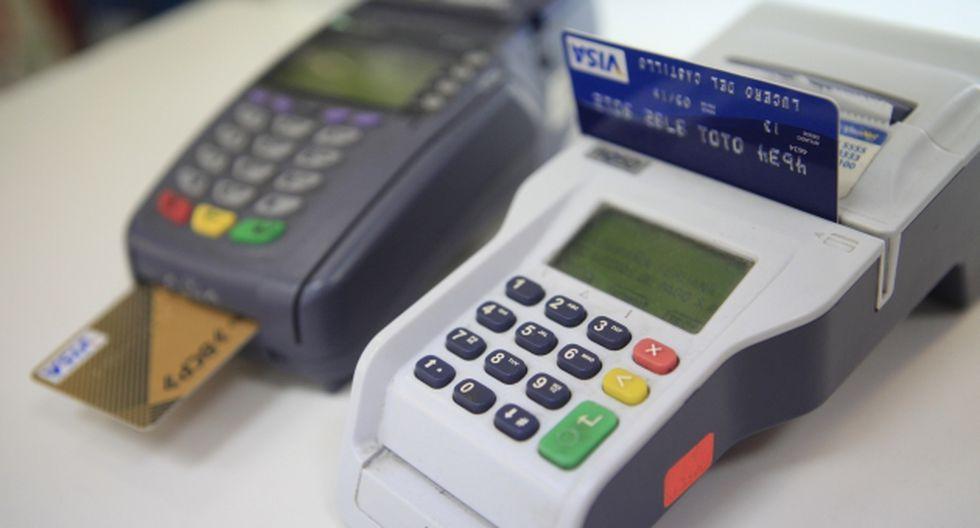 Avance. Cada año se colocan alrededor de 600 mil tarjetas de crédito en todo el país, según Scotiabank. (USI)