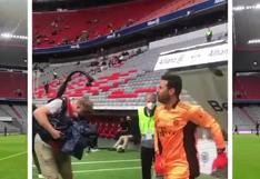 Claudio Pizarro fue capitán y arquero en duelo de leyendas del Bayern Munich [VIDEO]