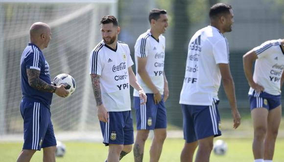 Jorge Sampaoli contó detalles de su trabajo de comunicación en la selección de Argentina (Foto: AFP).