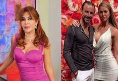 """Magaly Medina: """"Fidelio Cavalli utilizó a Sheyla Rojas para aumentar su número de seguidores en Instagram"""""""