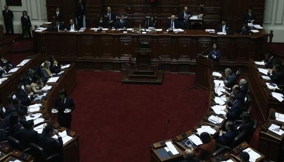 Ana Jara se presentó en el Congreso el último miércoles. (Nancy Dueñas)