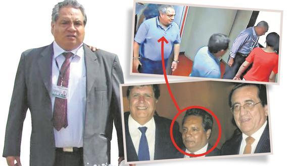 Aprista participó en intervención a oficinas lacradas en la Fiscalía. (Perú21)