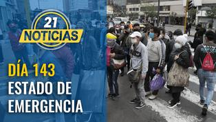 Día 143 de estado de emergencia