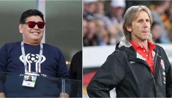 Diego Maradona pide a Ricardo Gareca como entrenador de Argentina. (Foto: AFP - AP)