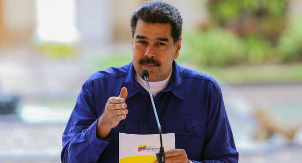 """Nicolás Maduro aseveró que la detención de Julian Assange fue """"ejecutada de forma torpe y vergonzosa por la Policía británica"""". (Foto: AFP)"""