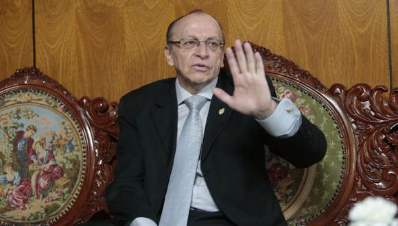 José Pelaéz le respondió a Rodolfo Orellana. (Perú21)