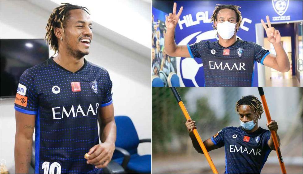 El regreso de André Carrilló a Al Hilal. (Foto: @Alhilal_FC)