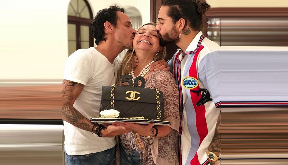 El cantante fue criticado por mostrar cómo celebró el cumpleaños de su madre. (Créditos: Instagram)