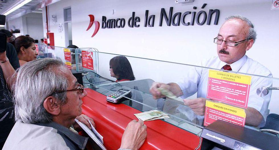 El Banco de la Naciónatenderán con total normalidad mañana 6 de diciembre desde las 7.30 a.m. (Foto: El Comercio)