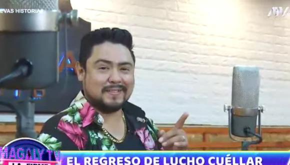A sus 34 años, Lucho Cuéllar se dará una nueva oportunidad en la música. (Foto: Captura de video)