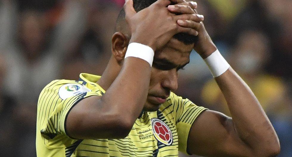 William Tesillo falló penal con Colombia en la Copa América y ahora recibe amenazas. (Foto: AFP)