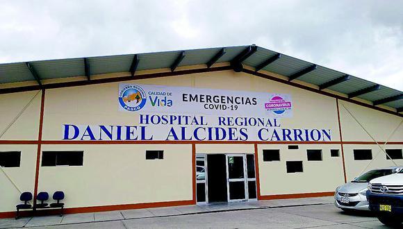 La paciente había sido hospitalizada en el Hospital Regional Daniel Alcides Carrión de Pasco por obstrucción intestinal. (Foto: GEC)
