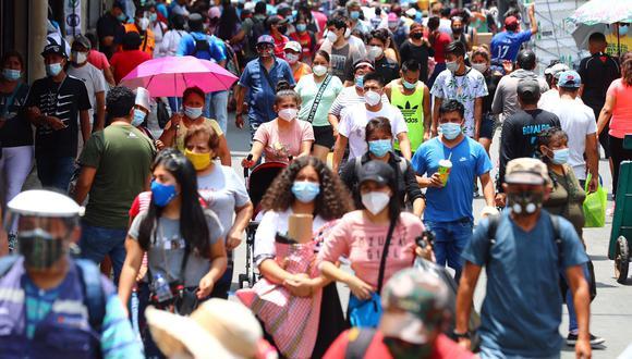 El número de decesos y de nuevos contagios aumentó, según informó el Minsa. (Foto: Hugo Curotto/GEC)