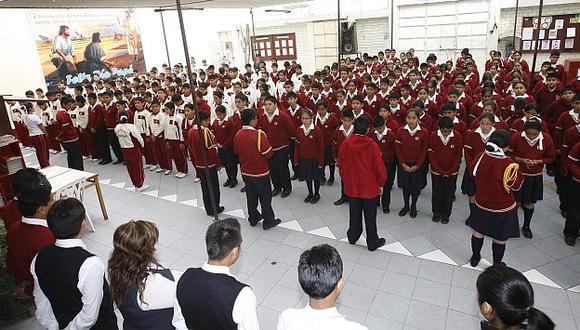 Este año se sancionó a 139 colegios con mulstas que suman 1 millón 360 mil. (Referencial/USI)