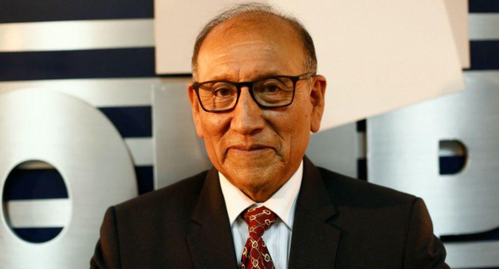 Mariano Cucho, jefe de la ONPE, invocó a la prudencia hasta tener los resultados al 100%. (César Fajardo)