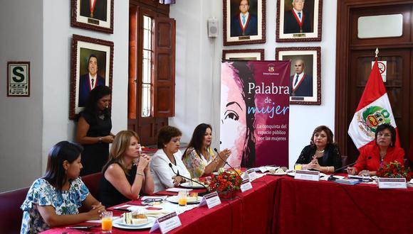 El conversatorio se realiza en la sede del Tribunal Constitucional, en el centro de Lima. (Foto: GEC/ Hugo Curotto)