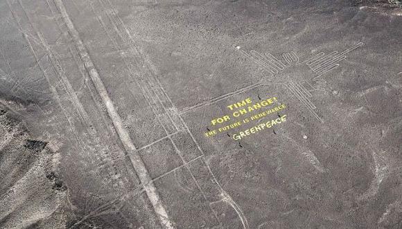 Ministerio de Cultura denunció a Greenpeace. (EFE)