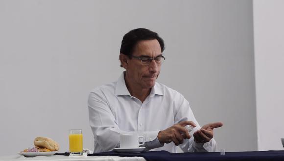 El Pleno del Congreso revisará este viernes el informe final de la denuncia constitucional contra Martín Vizcarra por el denominado caso 'Vacunagate'. (@photo.gec)